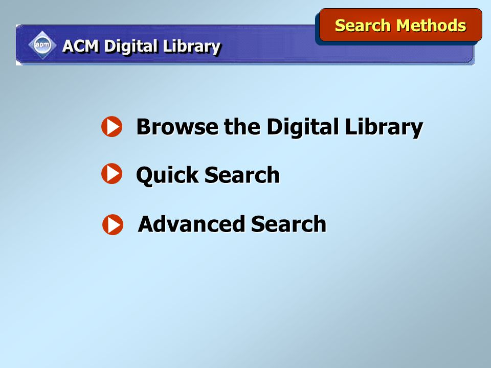 Browse the Digital Library