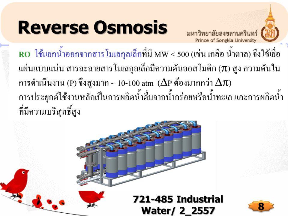 Reverse Osmosis 721-485 Industrial Water/ 2_2557