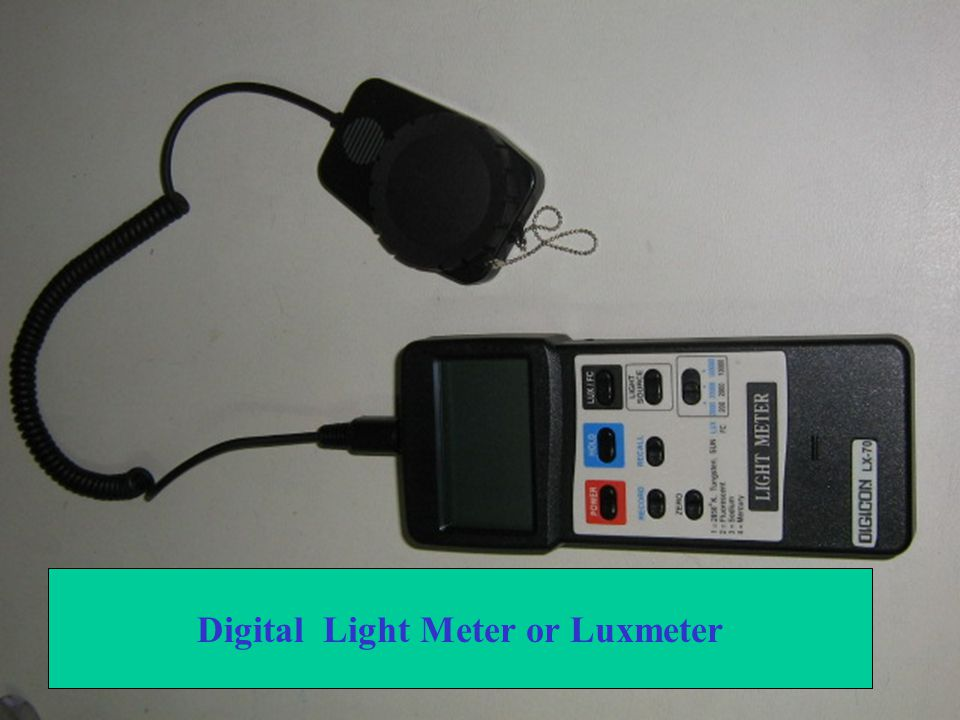 Digital Light Meter or Luxmeter