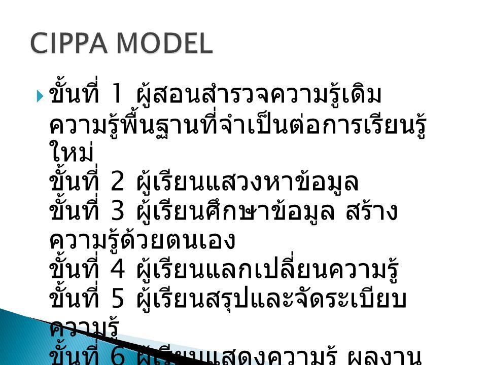 CIPPA MODEL