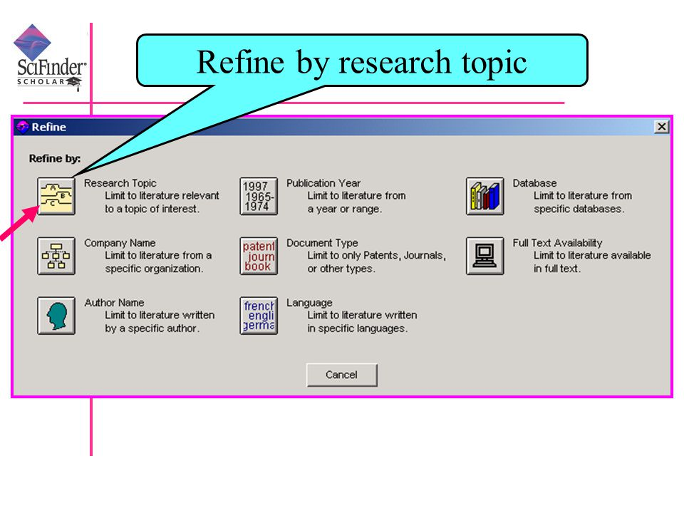 Refine by research topic