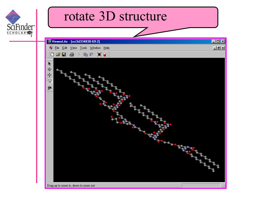 rotate 3D structure