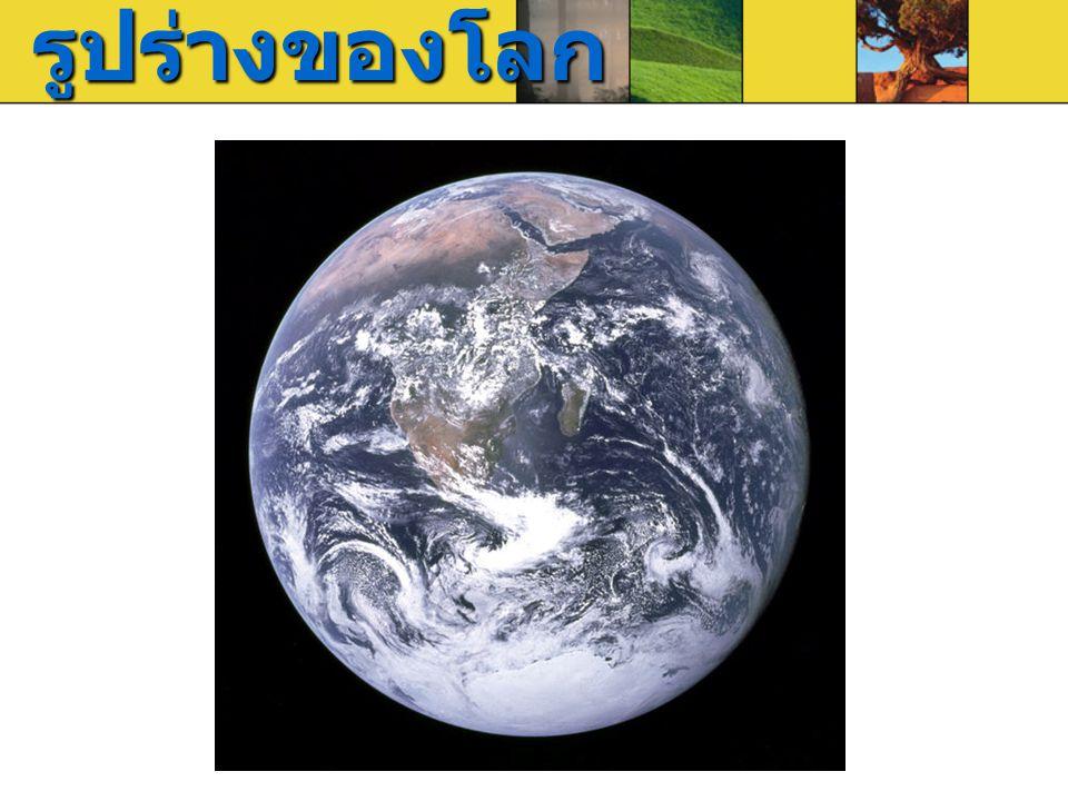 รูปร่างของโลก
