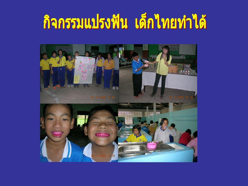 กิจกรรมแปรงฟัน เด็กไทยทำได้