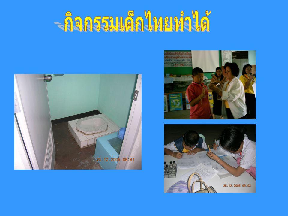 กิจกรรมเด็กไทยทำได้