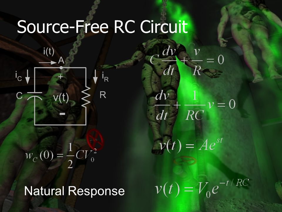 Source-Free RC Circuit