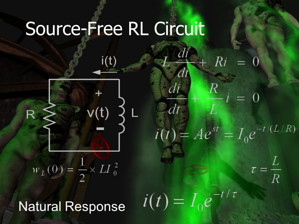 Source-Free RL Circuit