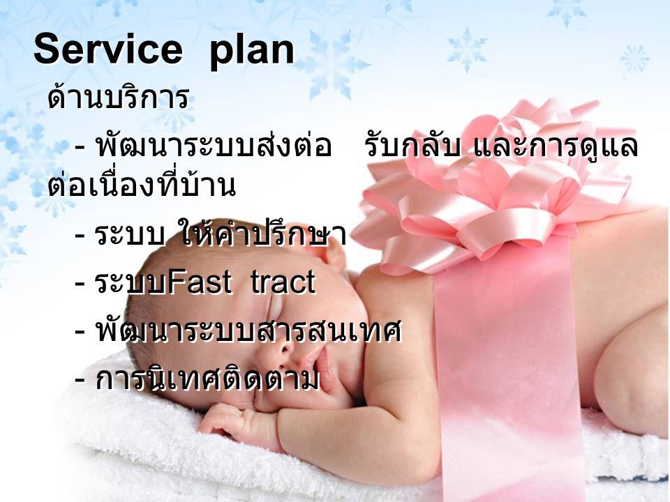 Service plan ด้านบริการ
