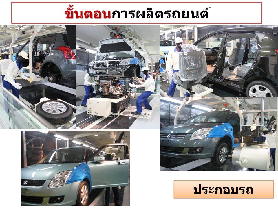 ขั้นตอนการผลิตรถยนต์