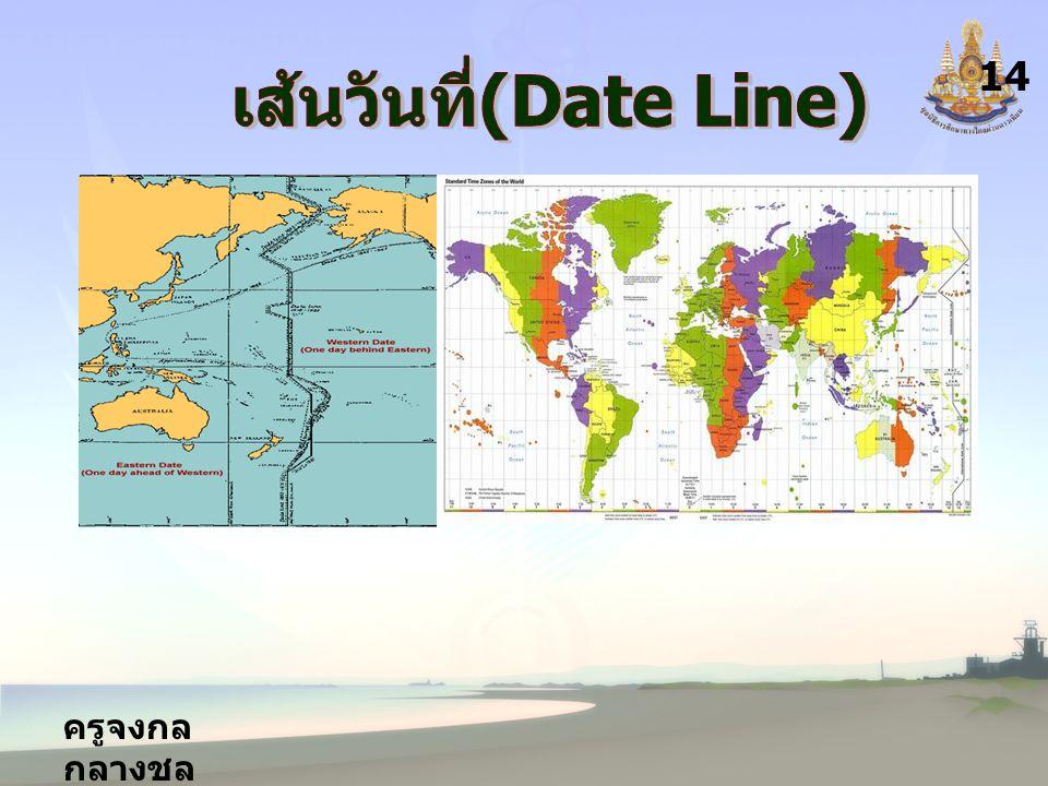 เส้นวันที่(Date Line)
