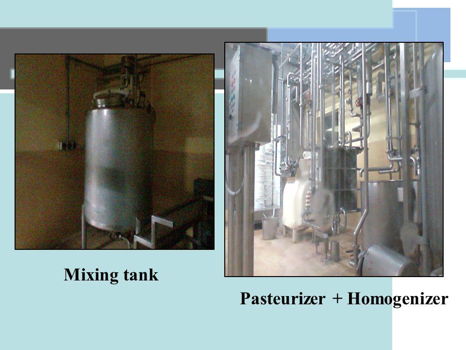Pasteurizer + Homogenizer