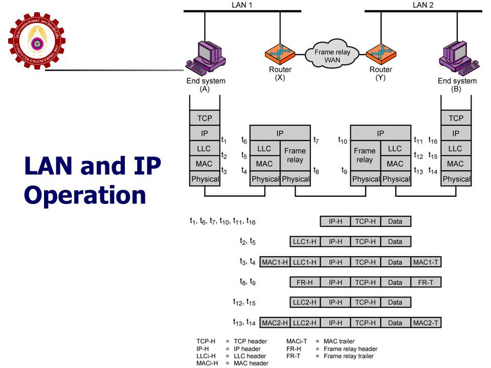 LAN and IP Operation
