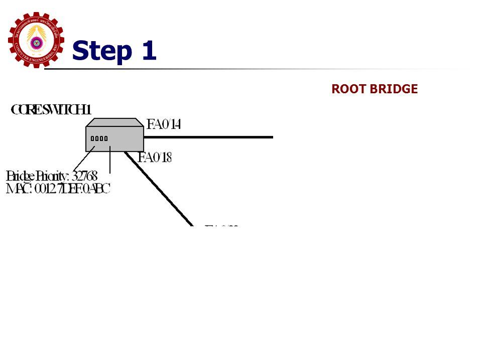 Step 1 ROOT BRIDGE