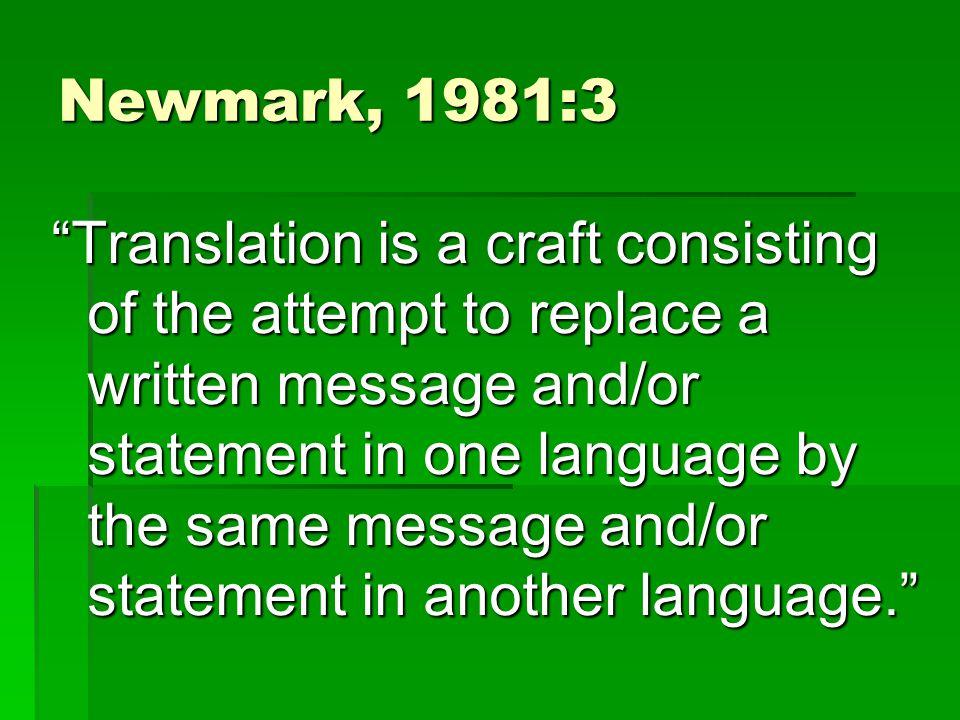 Newmark, 1981:3