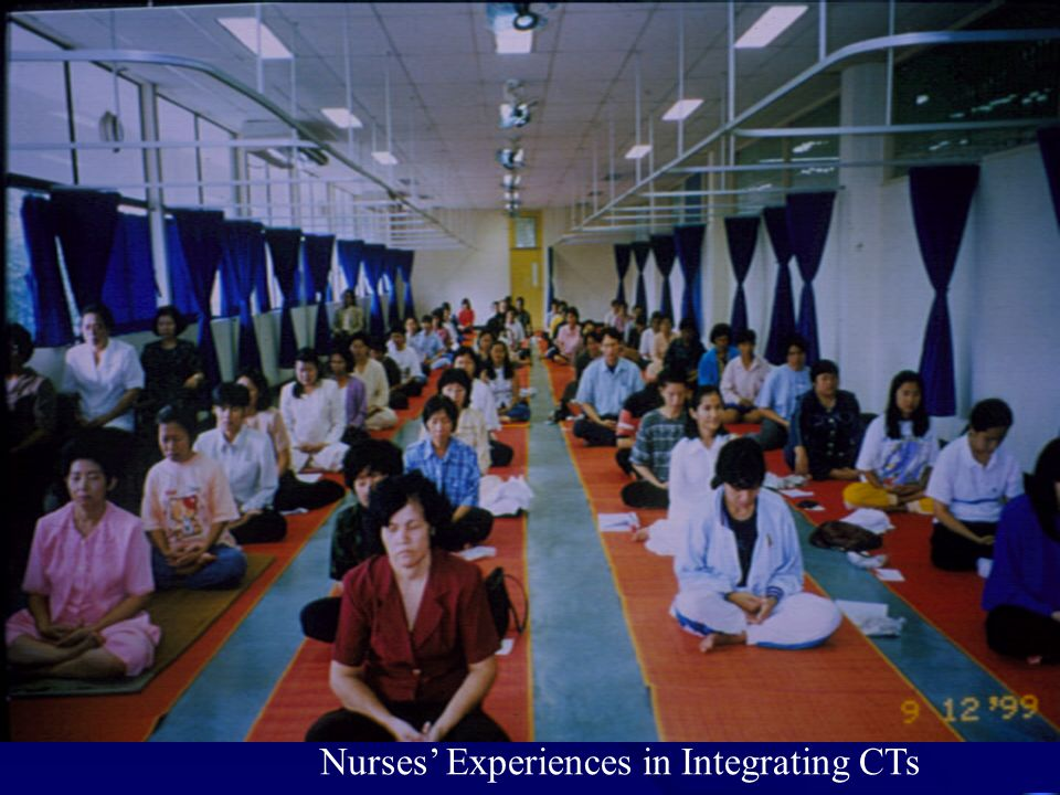 Nurses' Experiences in Integrating CTs
