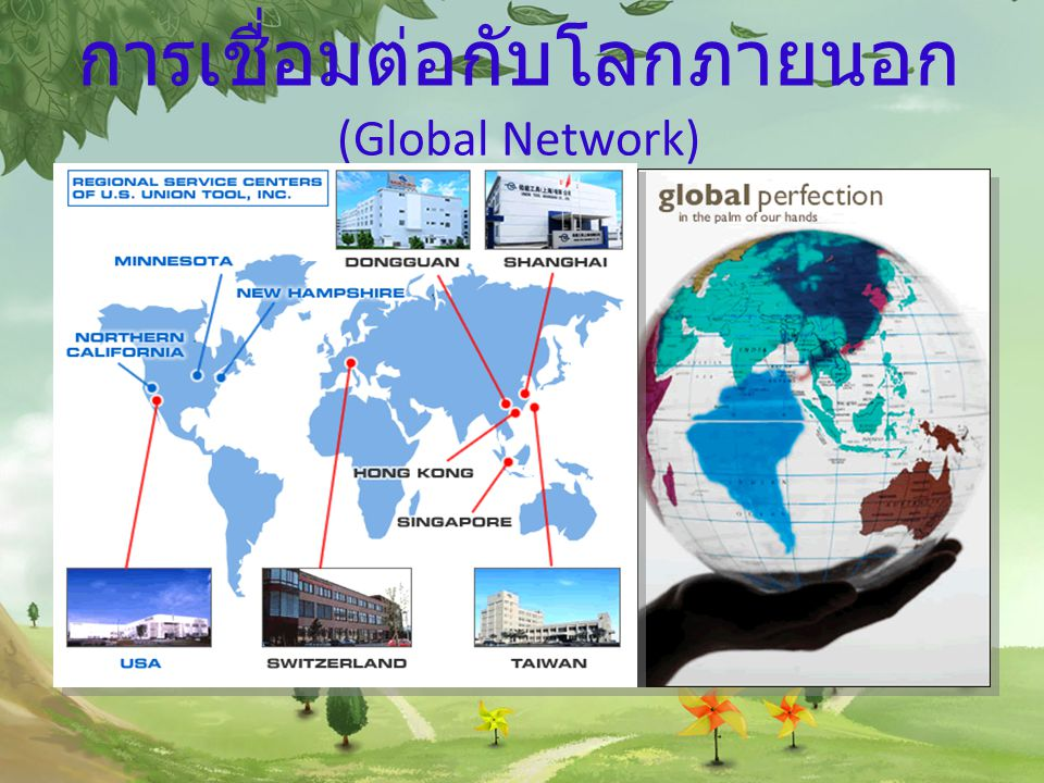 การเชื่อมต่อกับโลกภายนอก (Global Network)