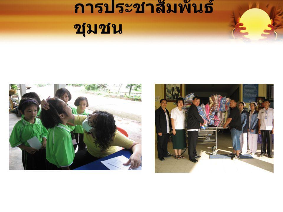 การประชาสัมพันธ์ชุมชน