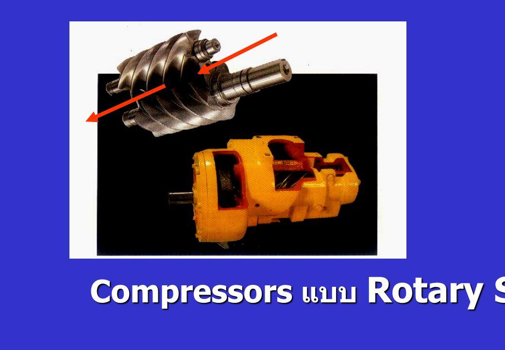 Compressors แบบ Rotary Screw