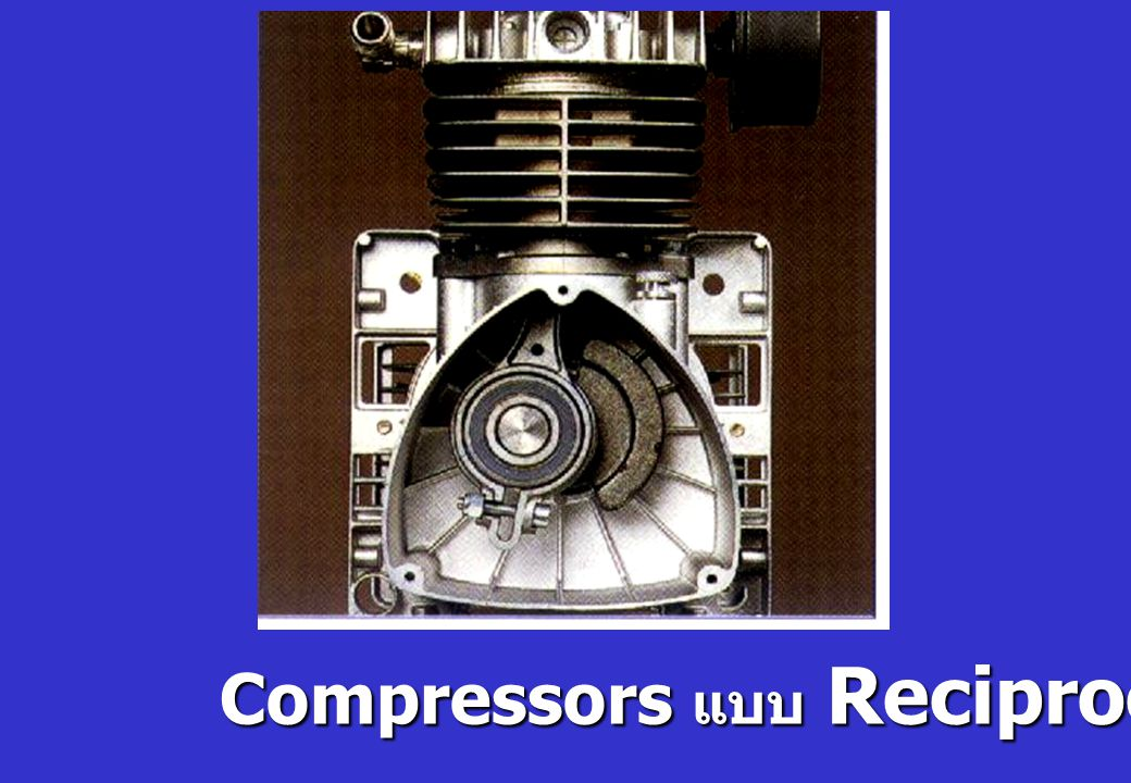 Compressors แบบ Reciprocating
