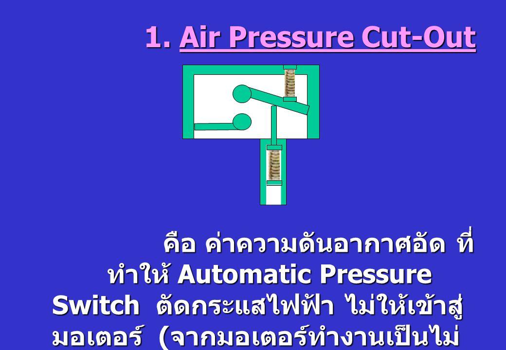 คือ ค่าความดันอากาศอัด ที่ทำให้ Automatic Pressure