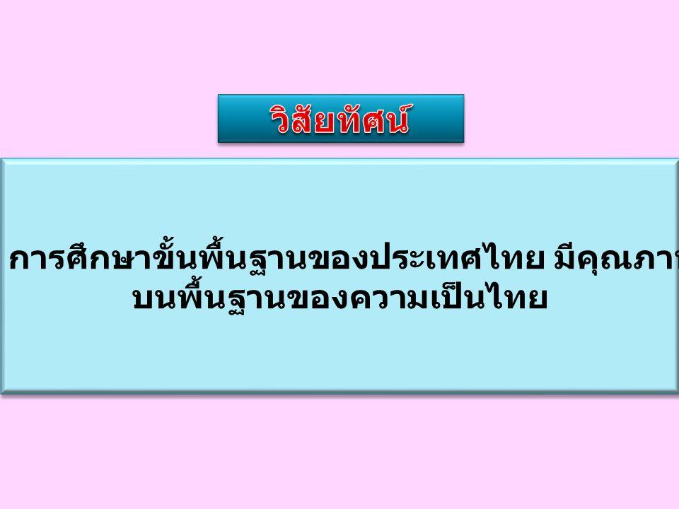 บนพื้นฐานของความเป็นไทย