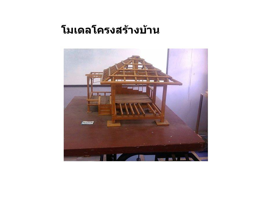โมเดลโครงสร้างบ้าน