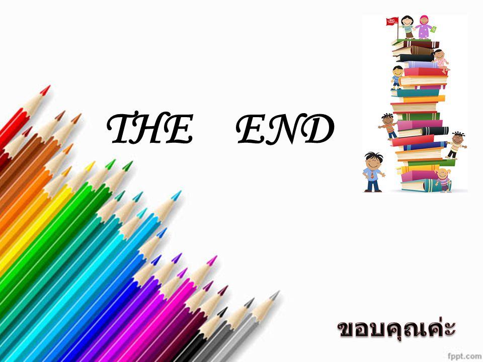 THE END ขอบคุณค่ะ