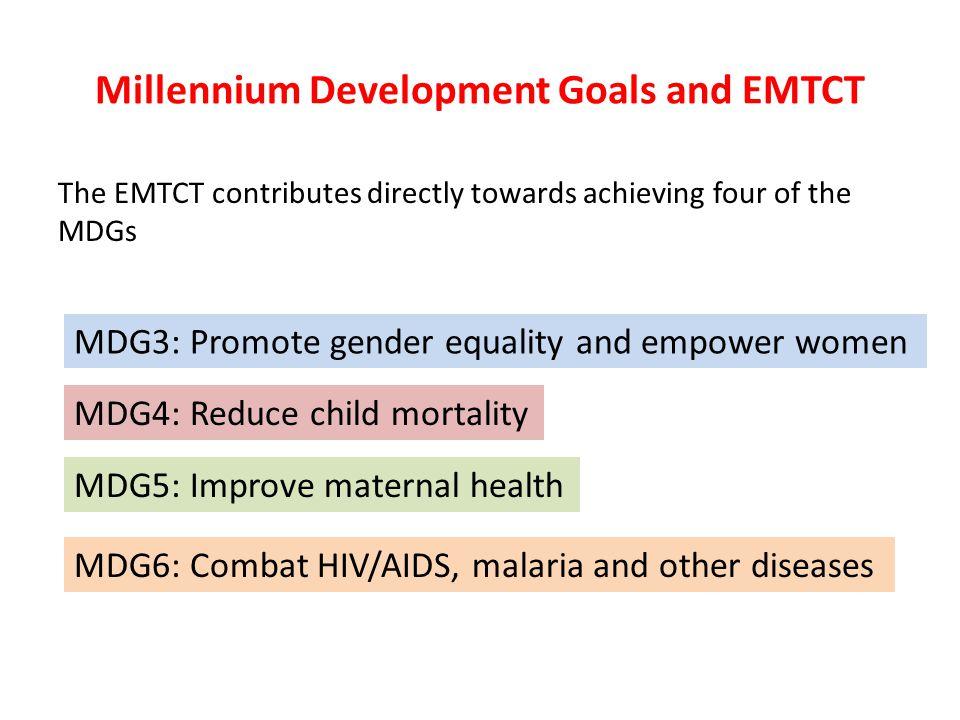 Millennium Development Goals and EMTCT