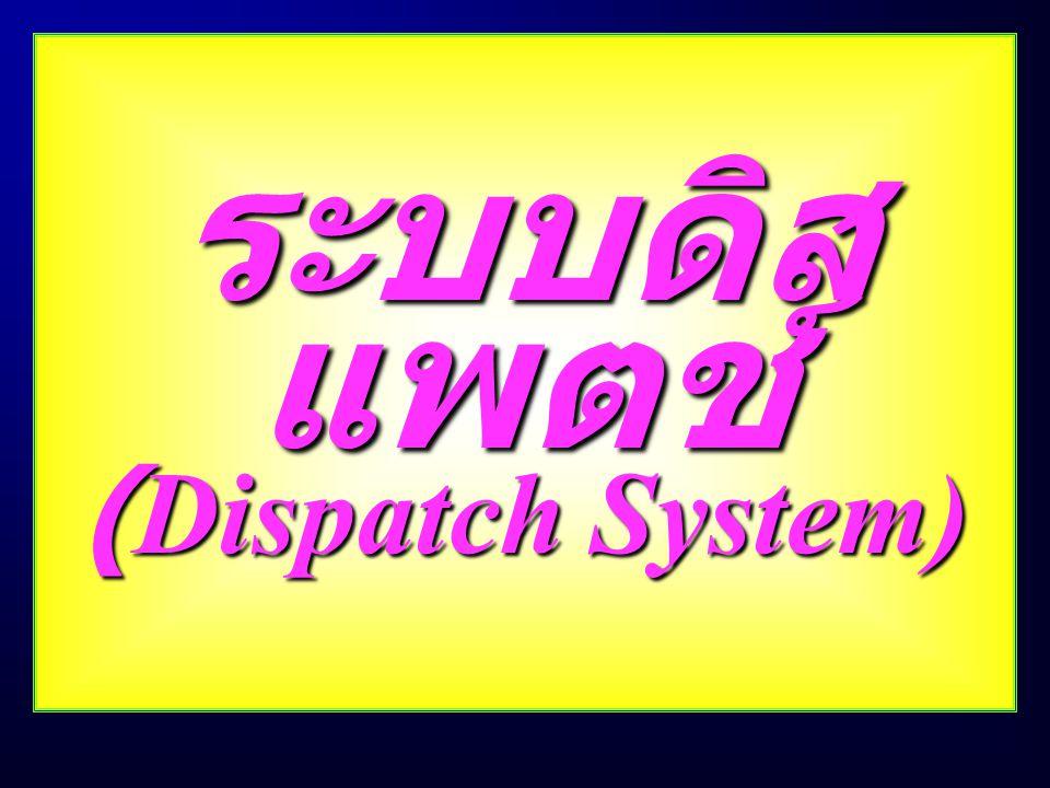 ระบบดิสแพตช์ (Dispatch System)