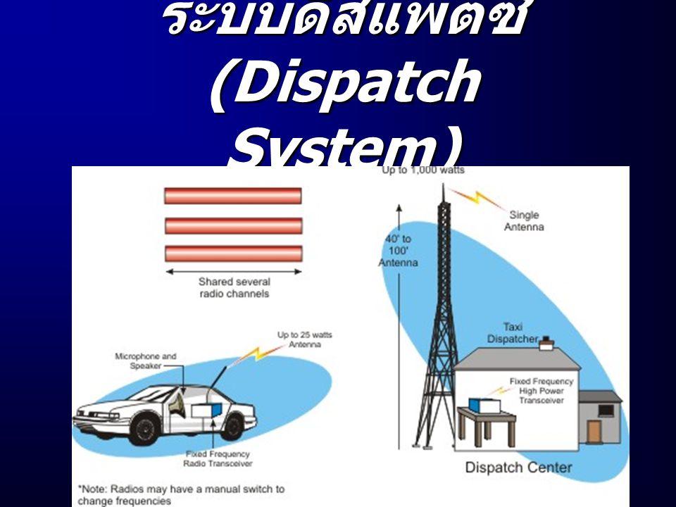 ระบบดิสแพตซ์ (Dispatch System)