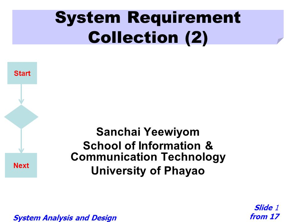 System Requirement Collection (2)