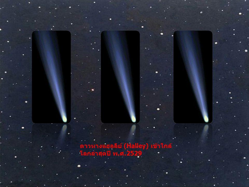ดาวหางแฮลลีย์ (Halley) เข้าใกล้โลกล่าสุดปี พ.ศ.2529