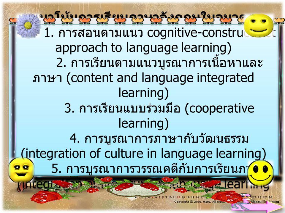 แนวโน้มการเรียนภาษาอังกฤษในอนาคต 1