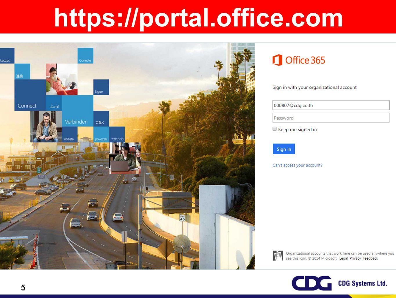 https://portal.office.com