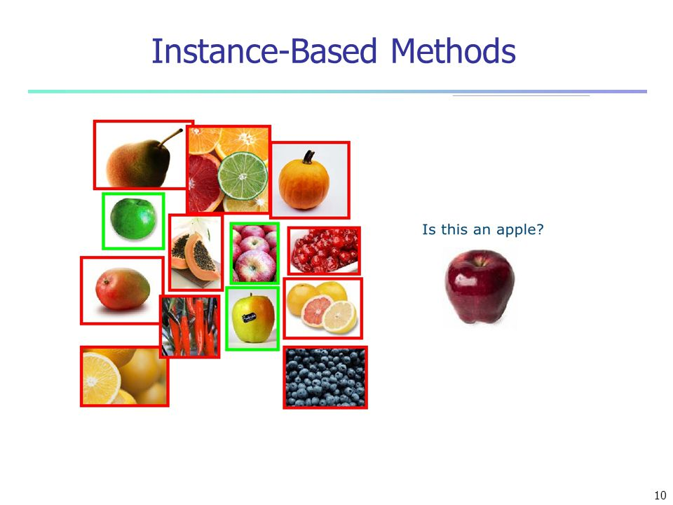 Instance-Based Methods