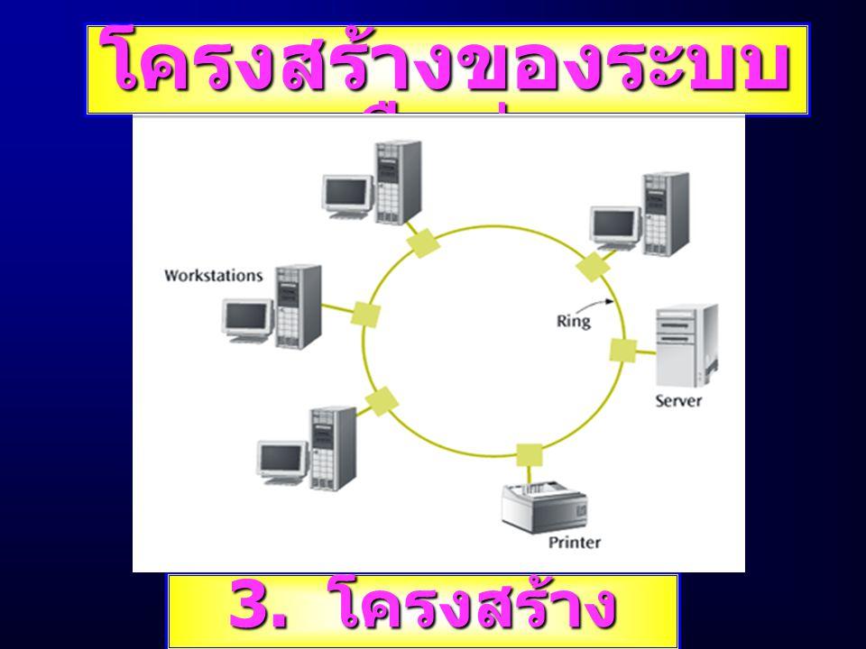 โครงสร้างของระบบเครือข่าย