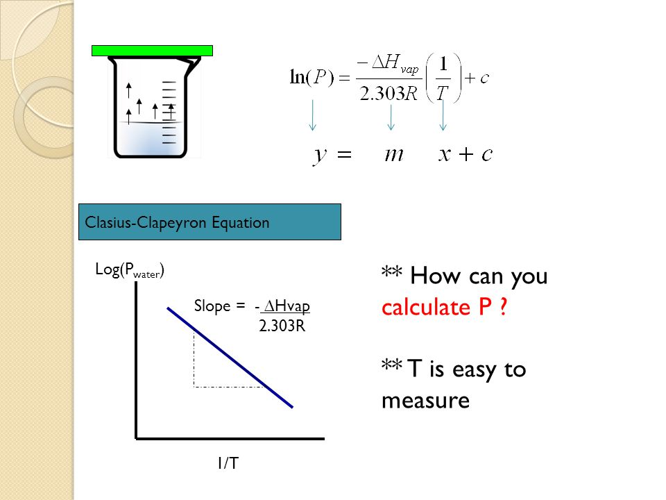 ** How can you calculate P