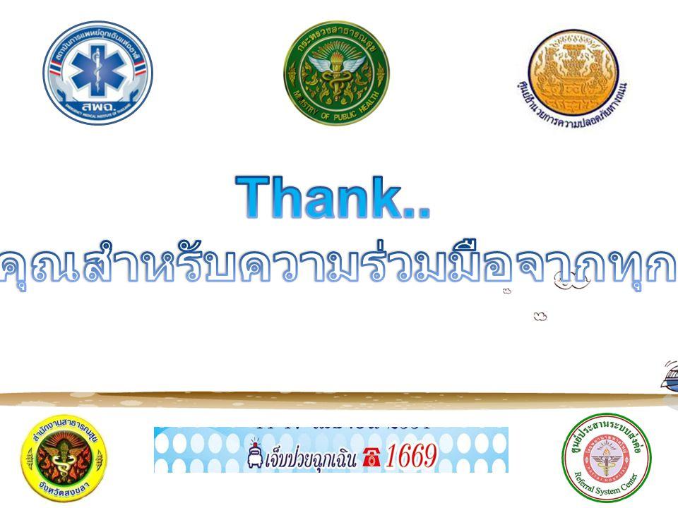 ขอบคุณสำหรับความร่วมมือจากทุกท่าน