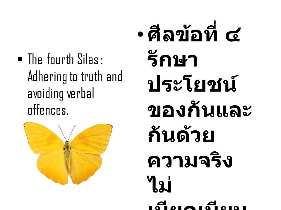ศีลข้อที่ ๔ รักษาประโยชน์ของกันและกันด้วยความจริง ไม่เบียดเบียนกัน ด้วยวาจา