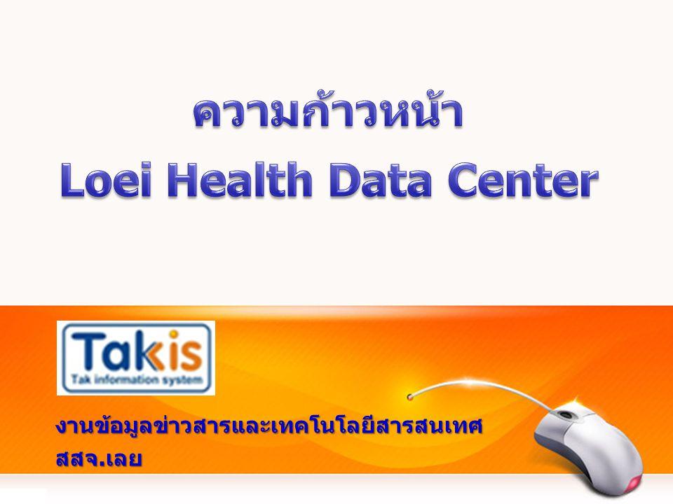 ความก้าวหน้า Loei Health Data Center