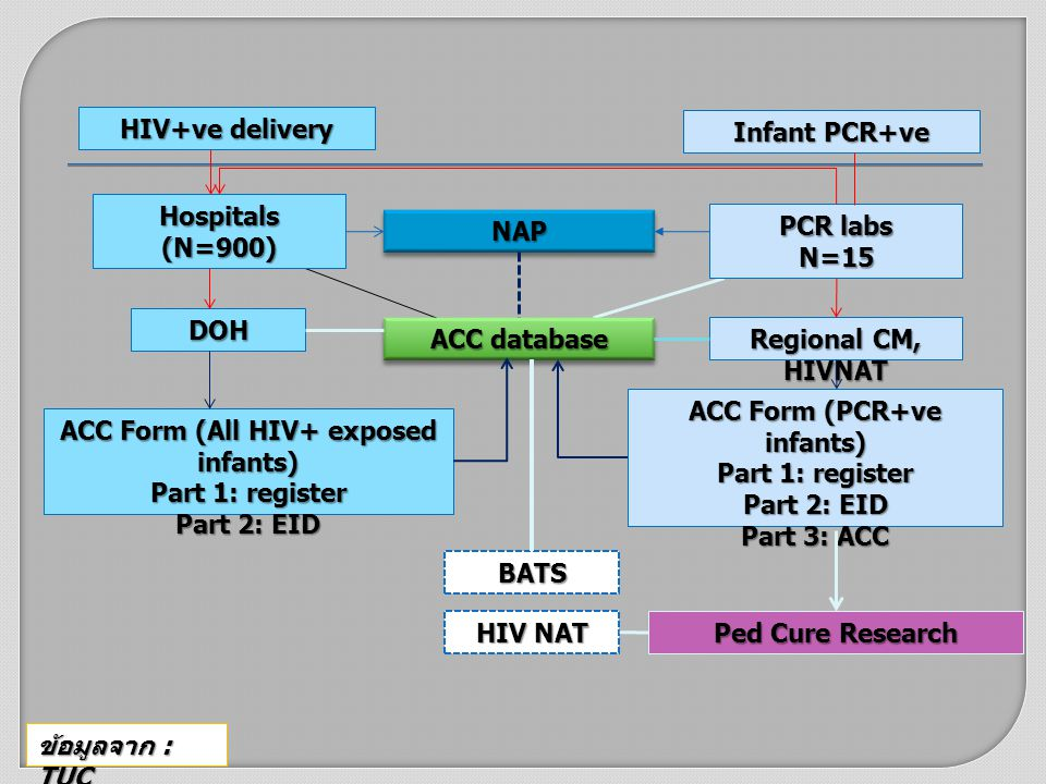 ACC Form (PCR+ve infants) ACC Form (All HIV+ exposed infants)