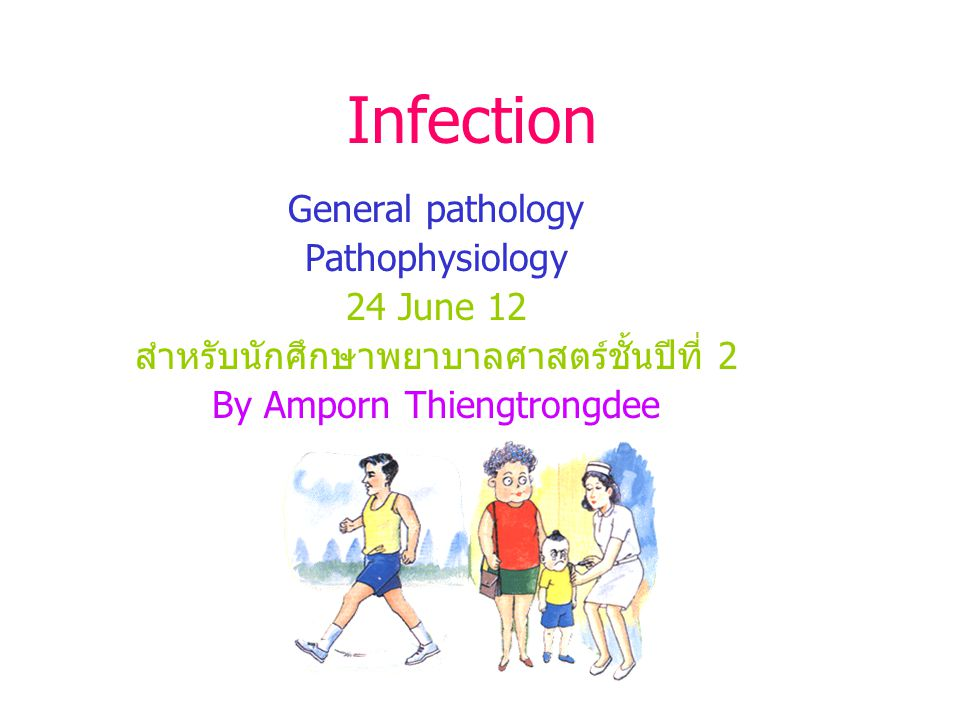 Infection General pathology Pathophysiology 24 June 12