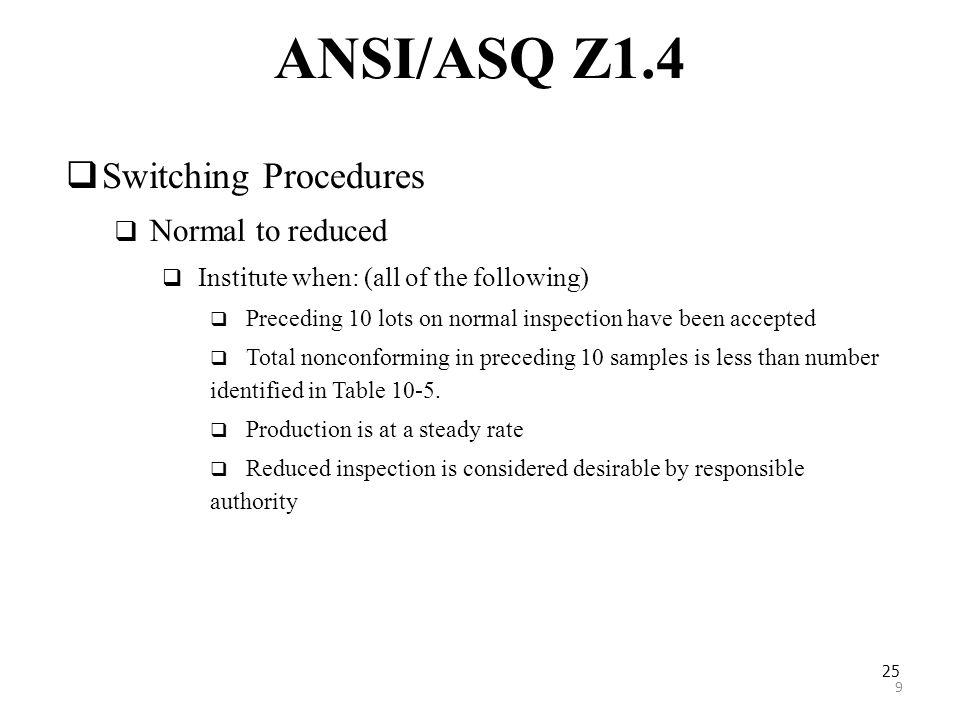 ANSI/ASQ Z1.4 Acceptance Sampling Plans - ppt ดาวน์โหลด   960 x 720 jpeg 53kB