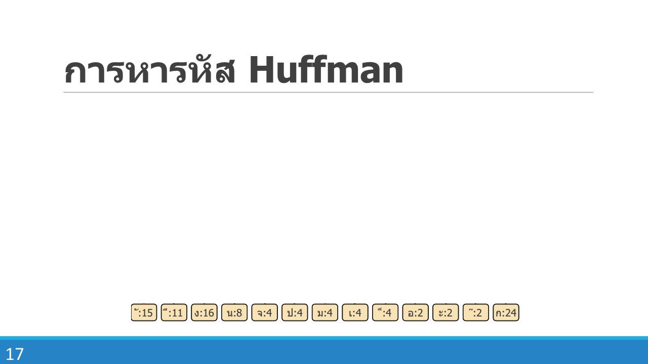 การหารหัส Huffman