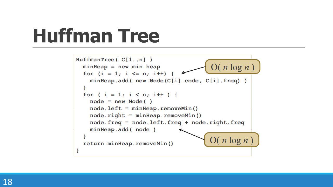 Huffman Tree