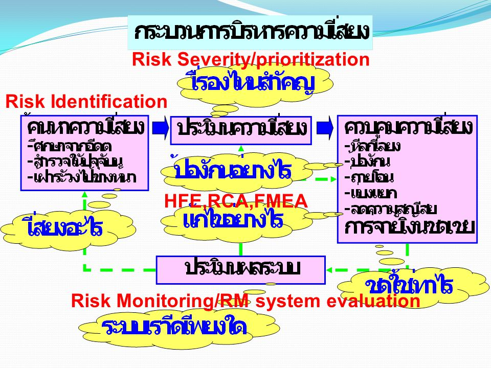 Risk Severity/prioritization