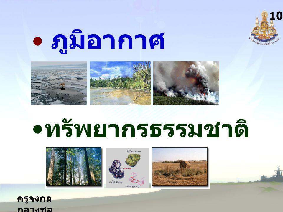 10 ภูมิอากาศ ทรัพยากรธรรมชาติ