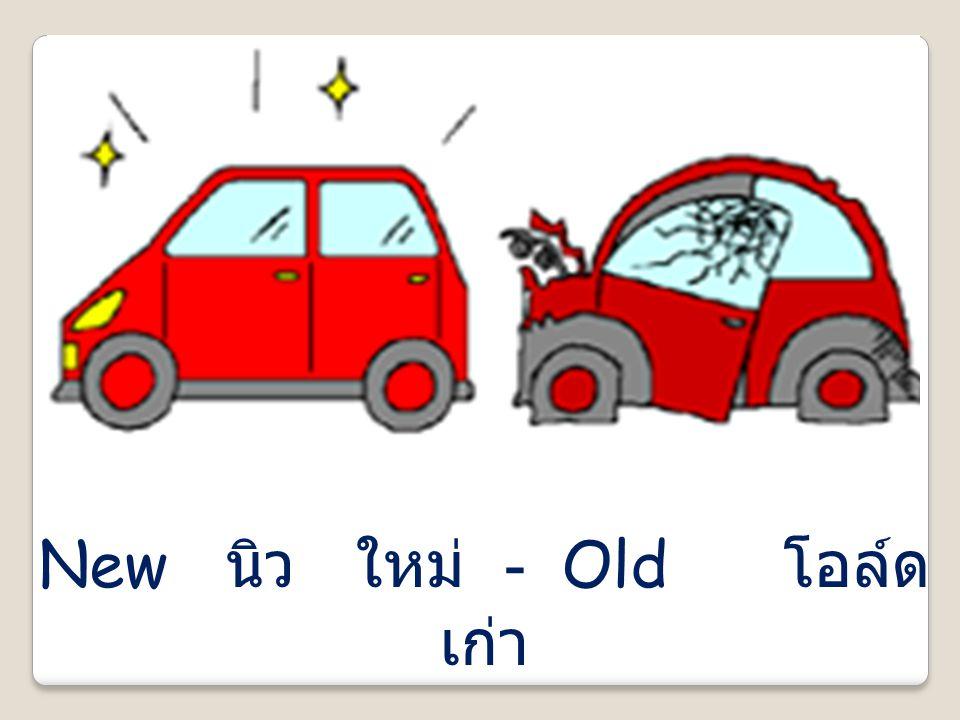 New นิว ใหม่ - Old โอล์ด เก่า