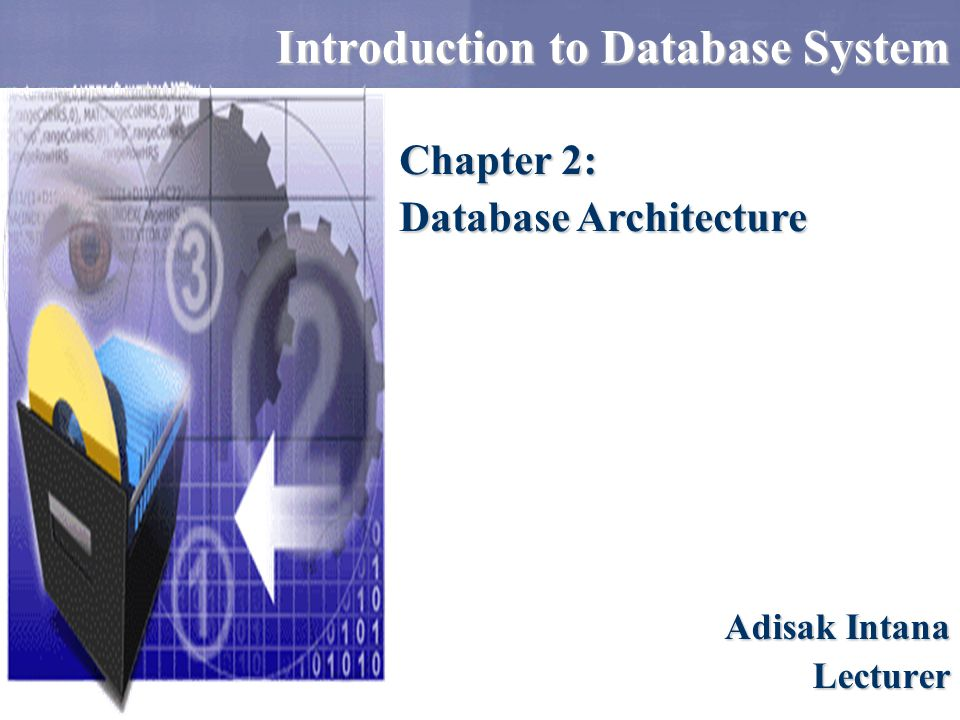 Introduction to Database System