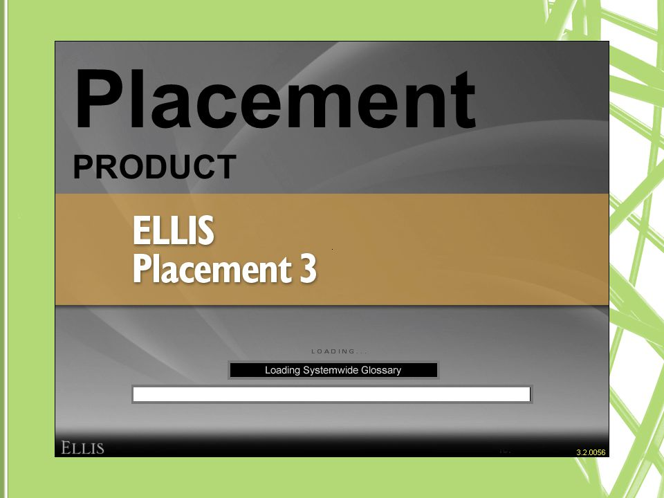 Placement PRODUCT